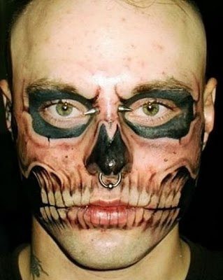 most unusual and weird face tattoos 3 1295319904 injected