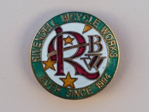 The Rivendell Bicycle Works logo.