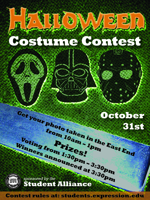 SAE Expression Students » 10/31 – Halloween Costume Contest!