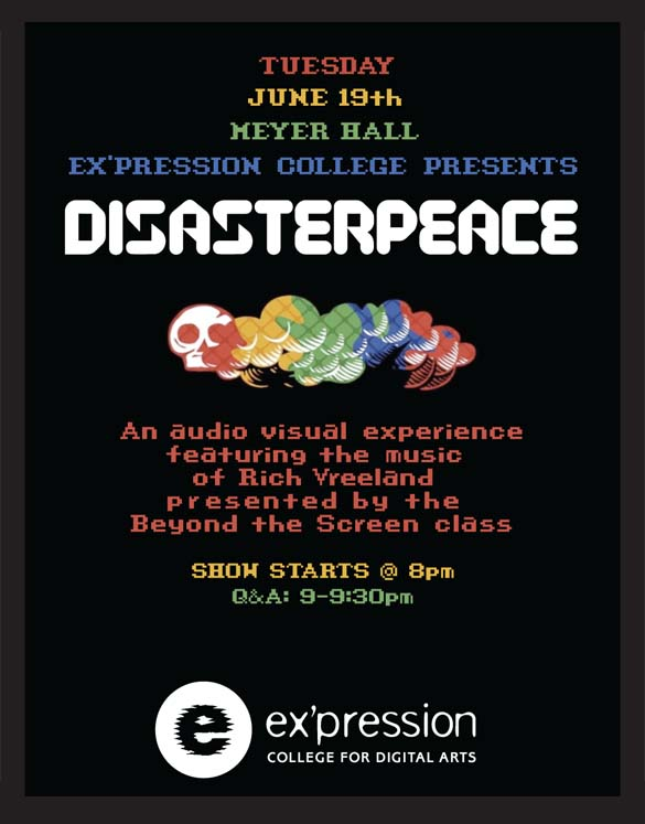 Beyond the Screen Presents Disasterpeace 8pm June 19 Meyer Hall