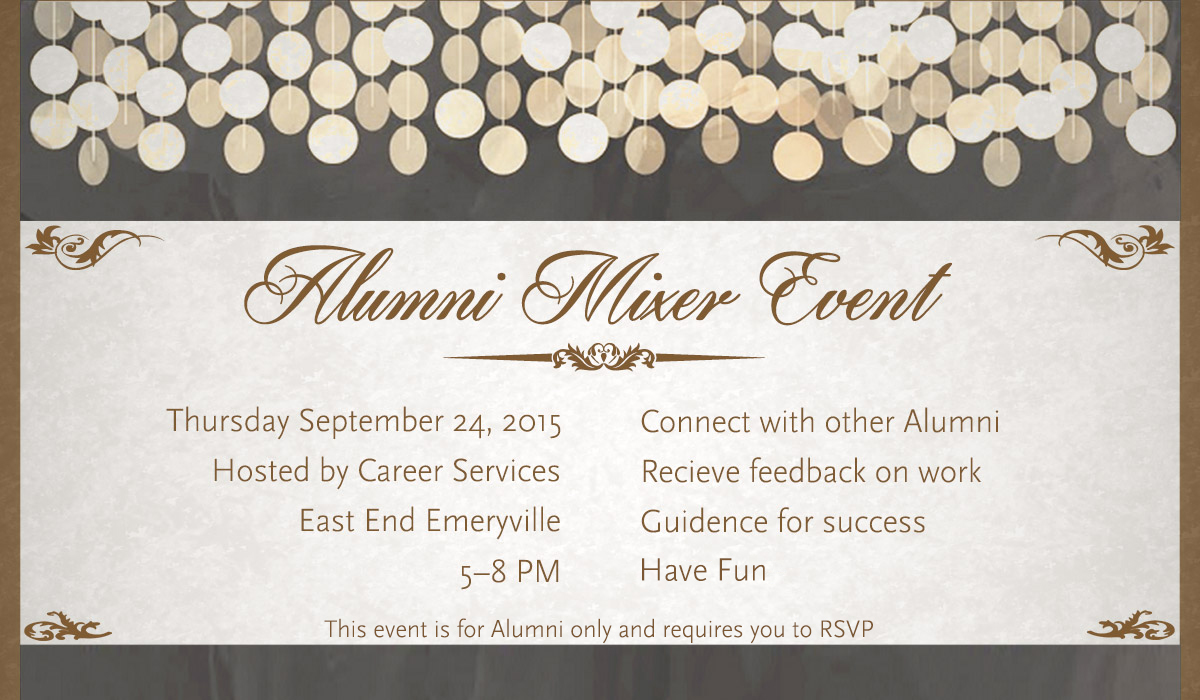 SAE Expression Students alumni event
