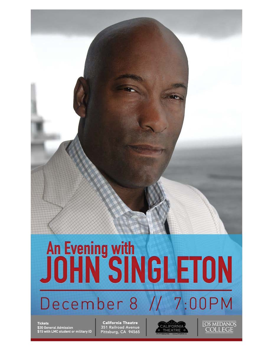Los Medanos College_An Evening with John Singleton_California Theatre_12-8-15