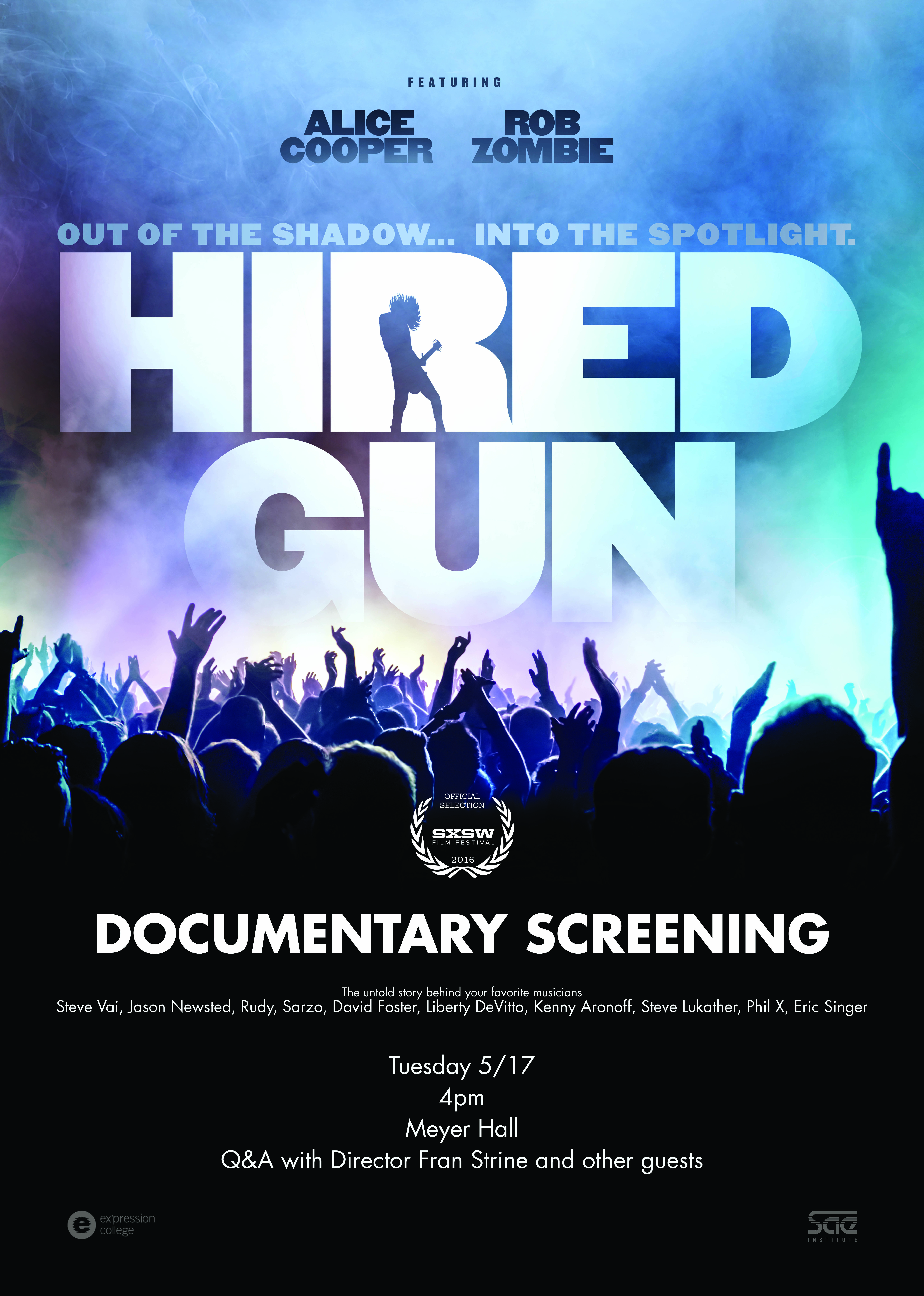 Hired Gun Poster Small