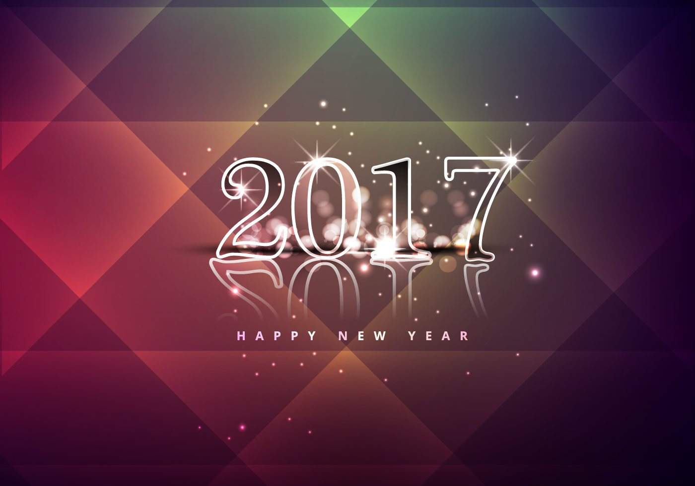 shiny-happy-new-year-2017-vector