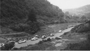 Thetime when the Golden Gate Live Steamers were still located in Redwood Park.