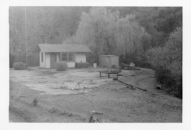 The Abandoned Station in Redwood park. Image Courtesy of International brotherhood of Live Steamers.