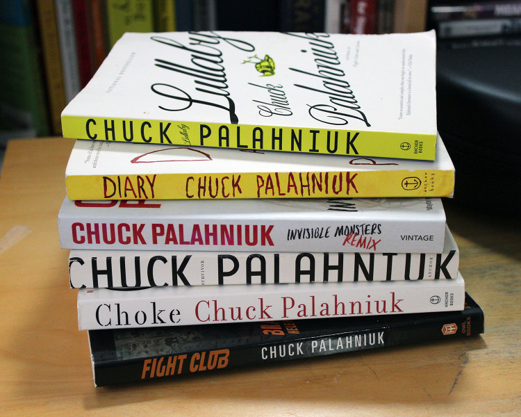 Books by the brilliantly dark Chuck Palhaniuk