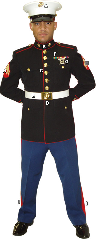 Us Marine Dress Uniform The Navy Vet