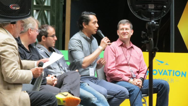 VR Q&A/Discussion Panel at the VR Fest. Here, they discussed and explained how VR is shaping the way the world works, and how it will continue to do so.