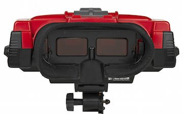 Virtual Boy's headset. I'm personally not even really sure how to put this on correctly