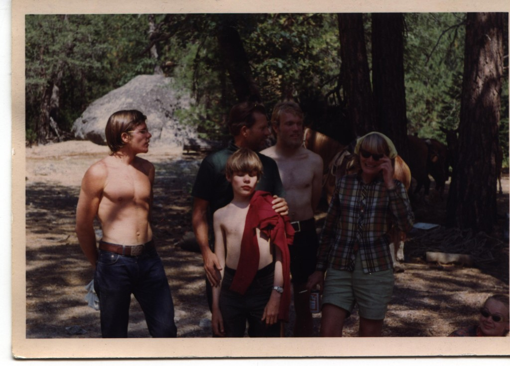 Family hightrip, Cedar Grove1967